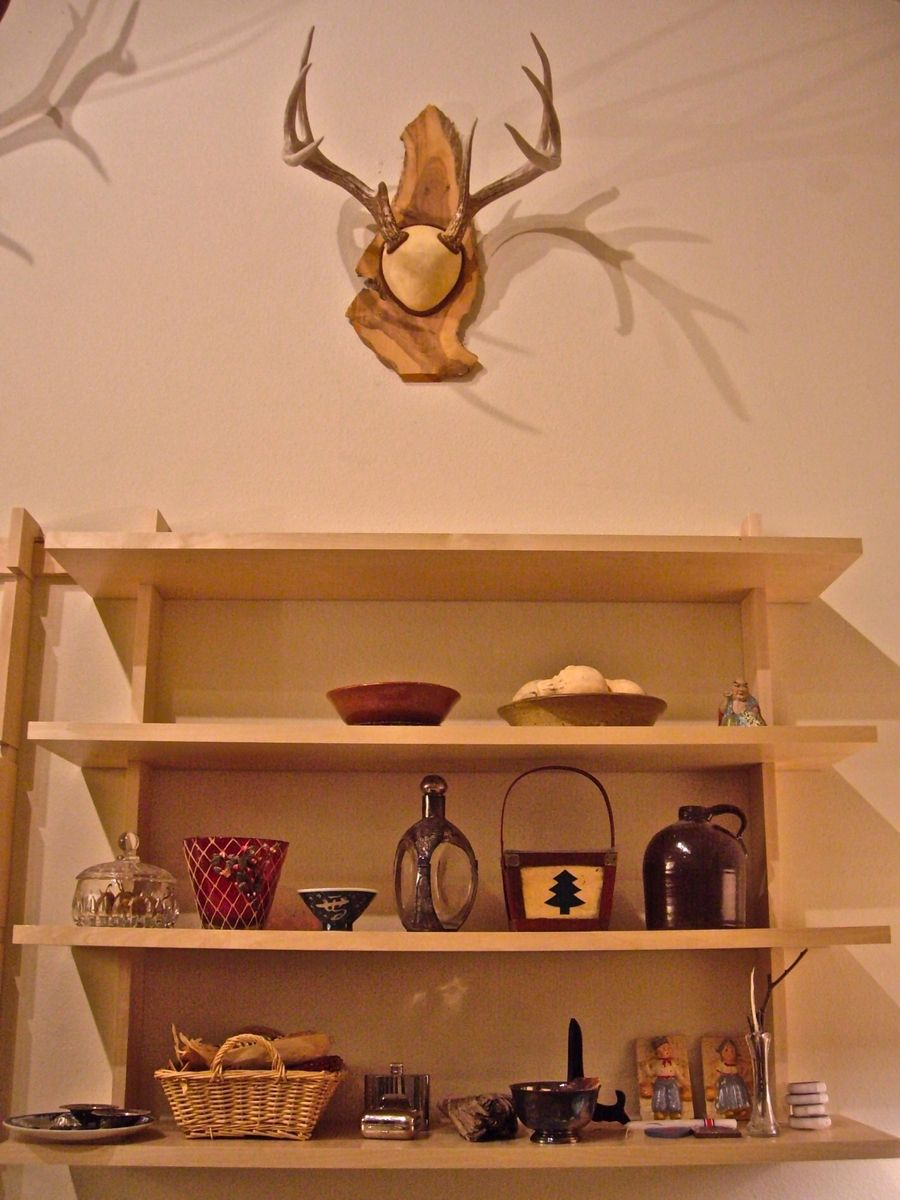 Custom Contemporary Hanging Shelves By Rovan Handcrafted