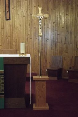 Custom Made Processional Cross Stand