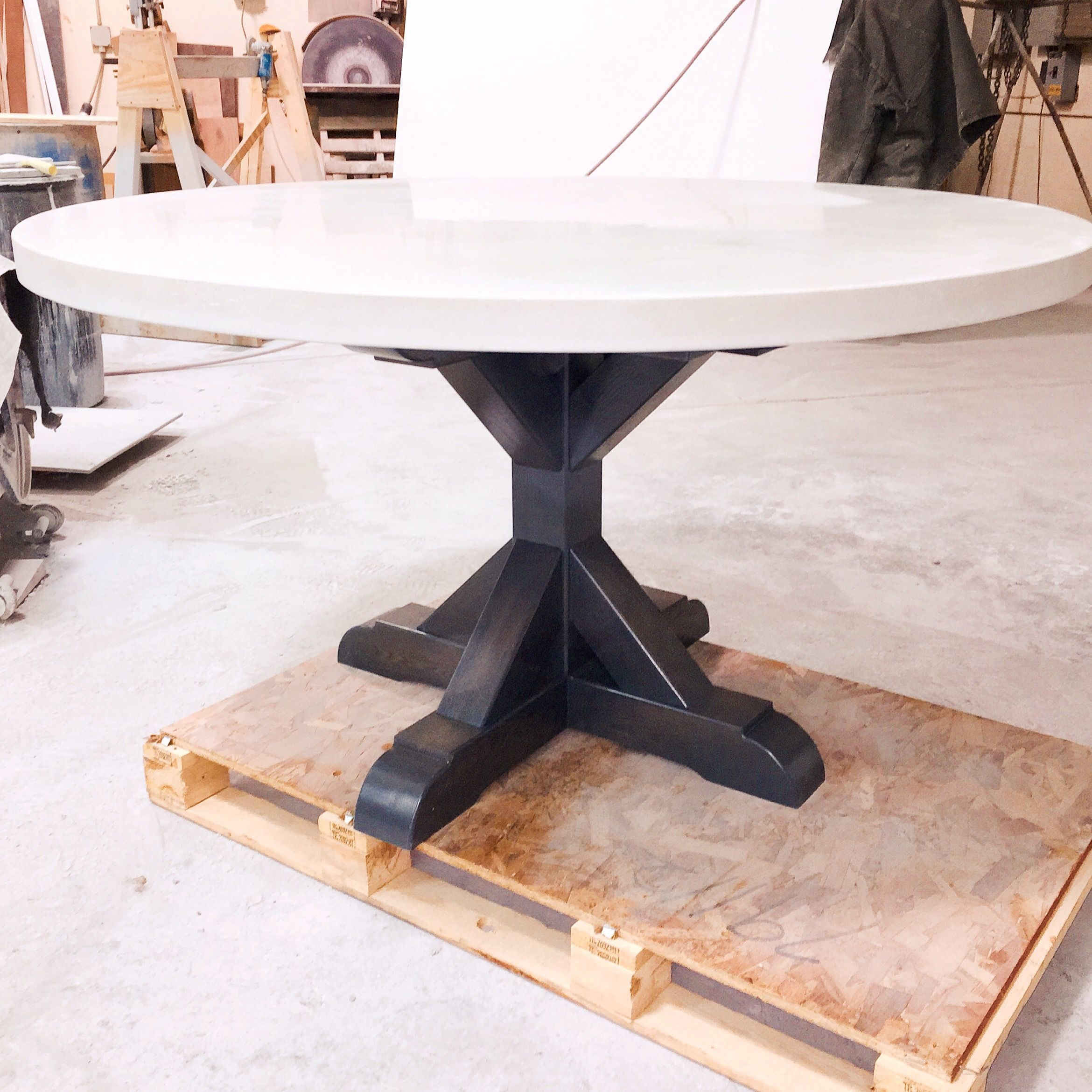 Hand Crafted Concrete Dining Table by 910 Castings  : 836191068169 from www.custommade.com size 2340 x 2340 jpeg 546kB