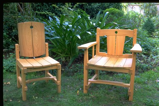 Custom Made Cypress Outdoor Chairs