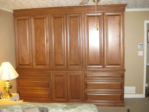 Custom Made Cherry Armoire