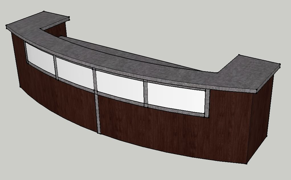 Hand Made 12 Church Welcome Desk By Envisionary Images