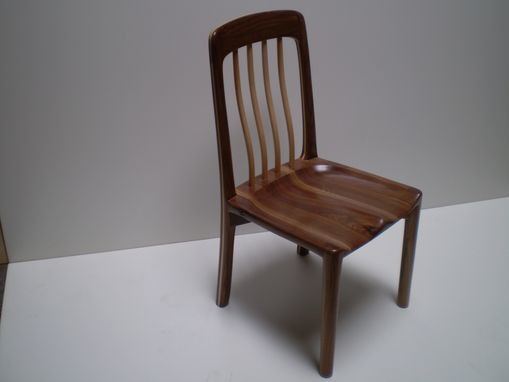 Custom Made Walnut /Maple Dining Chair