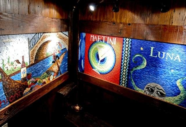 Custom smalti mosaic tile mural by vandorn turpen for Custom mosaic tile mural