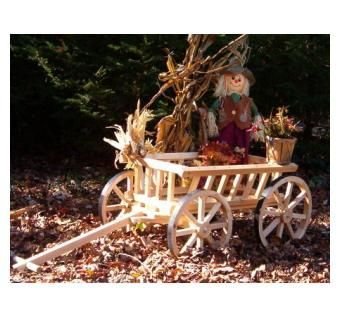 Custom Made Pumpkin Wagon