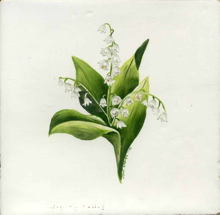 Hand Crafted Lily Of The Valley By Tiles By Jkozlak Custommade Com