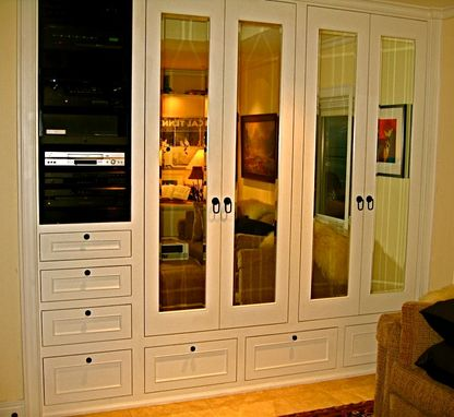 Custom Made His Custom Closet/ Media Center