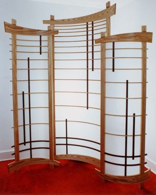 Custom Made Corner Shoji Screen