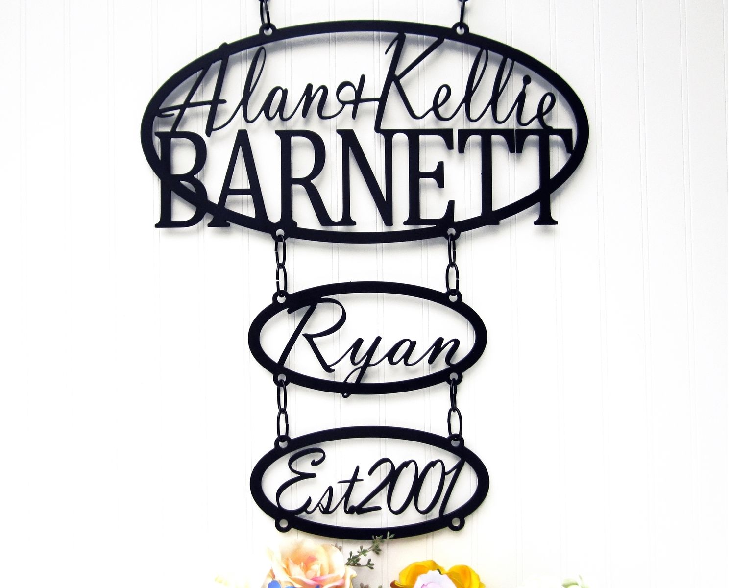 Buy Hand Crafted Custom Family Name Child Name