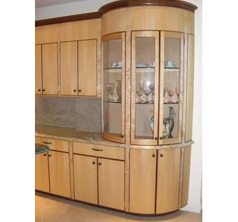 Custom art deco kitchen by william doub custom furniture for Art deco style kitchen units