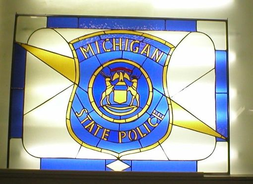 Custom Made Michigan State Police Emblem