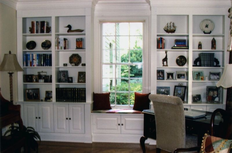 Hand Crafted Built-In Bookcases by Cabinetmaker Cabinets ...