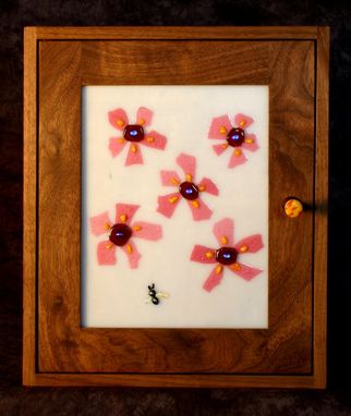 Custom Made Flower Cabinet