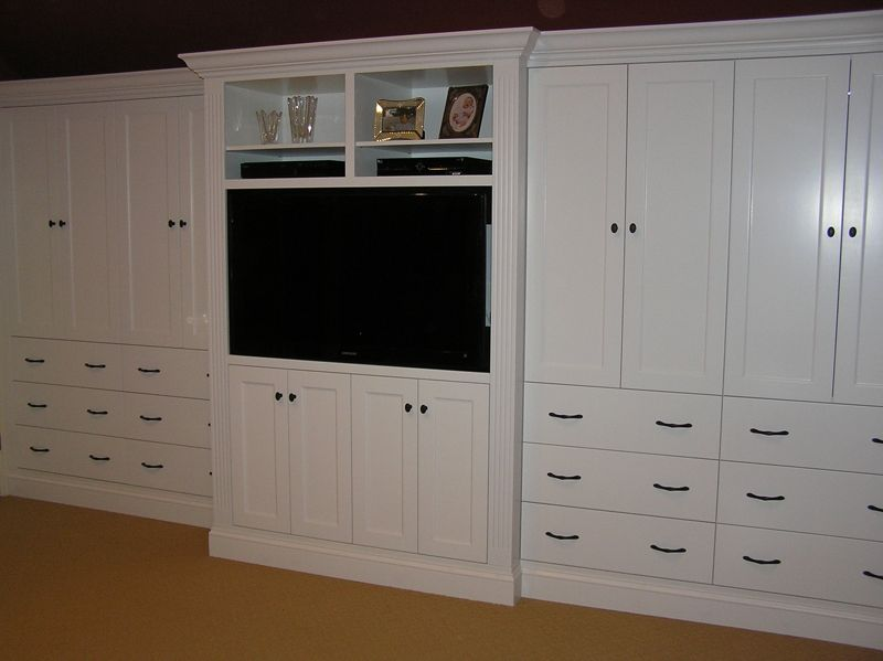 Custom built in bedroom cabinetry by cabinetmaker cabinets by alan - Custom made cabinet ...