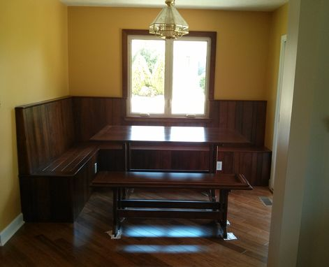 Hand Crafted Cherry Breakfast Nook By The Traditional