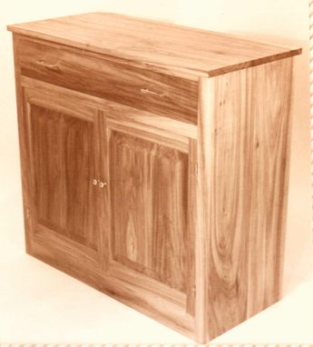 Custom Made Black Willow Chest