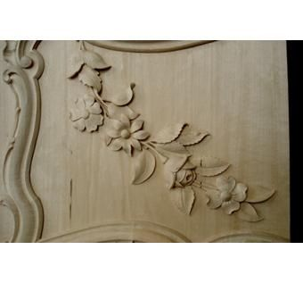 Custom Made Decorative Floral Panel