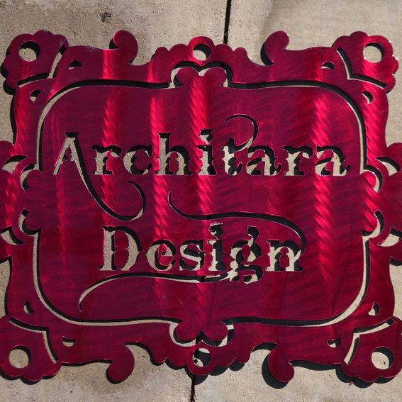 Hand Crafted Custom Metal Signs Business And Home Decor