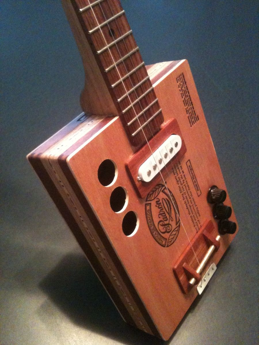 Custom Cigar Box Guitar Padron 9 By Garbocks Guitars