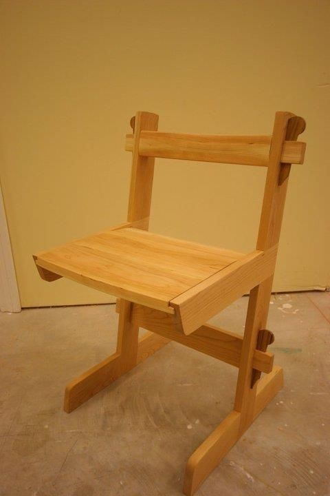 Custom Knock Down Chair By Dovetail Furniture Company