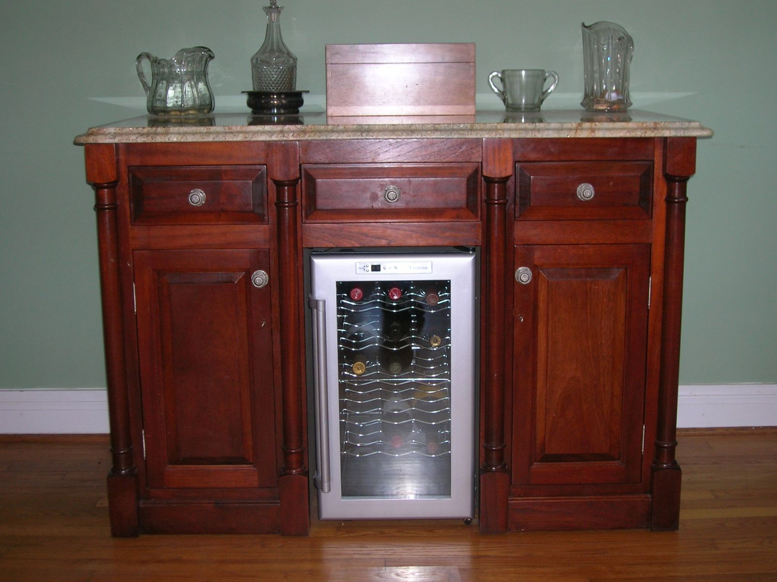 Custom wine bar by mike willis woodworking Home wine bar furniture