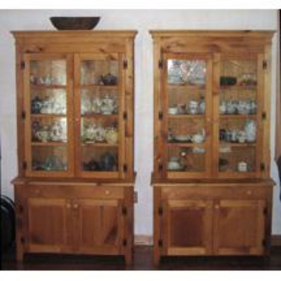 Maher Kitchen Cabinets: Custom Hand Made China Cabinets By Andrew C. Maher Custom