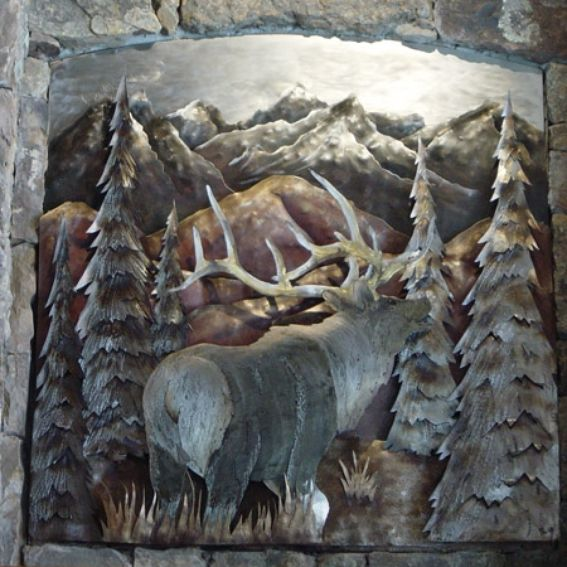 custom metal wall mural by reflections from the forge custom made wall murals wicked walls
