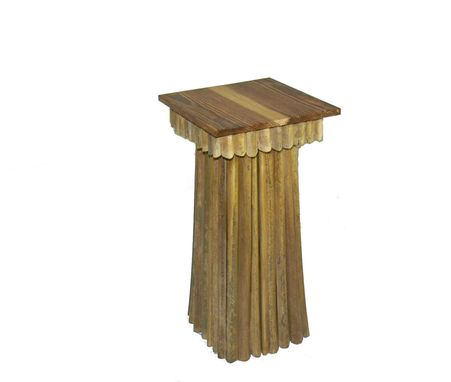 Custom Made Palm Frond Table