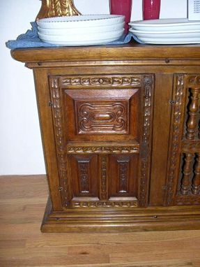 Custom Made Spanish Colonial Sideboard
