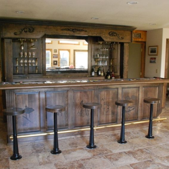 Hand Made Vintage Bar And Backbar by Daniel Cabinets  : 569035682 from custommade.com size 567 x 567 jpeg 50kB