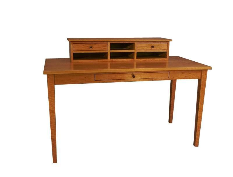 custom made writing desk Whether you want a custom computer desk for home, or a custom office desk for  work, get it custom  stick and branch letter writing desk by matthew osborn.
