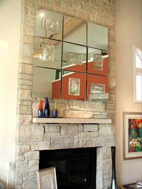 Custom Made Wall Mirror Installation