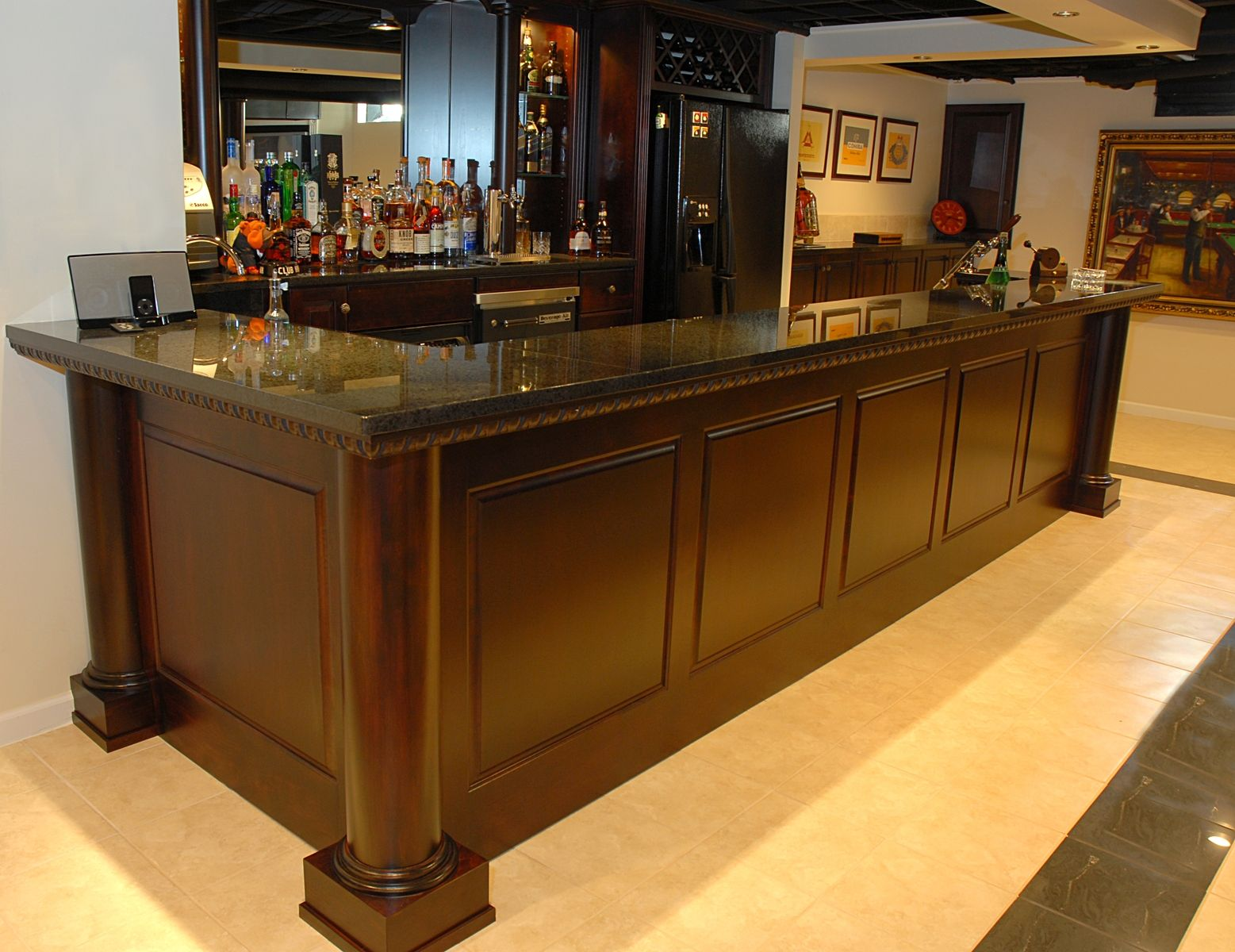 Handmade Bar By Custom Wood Creations CustomMadecom