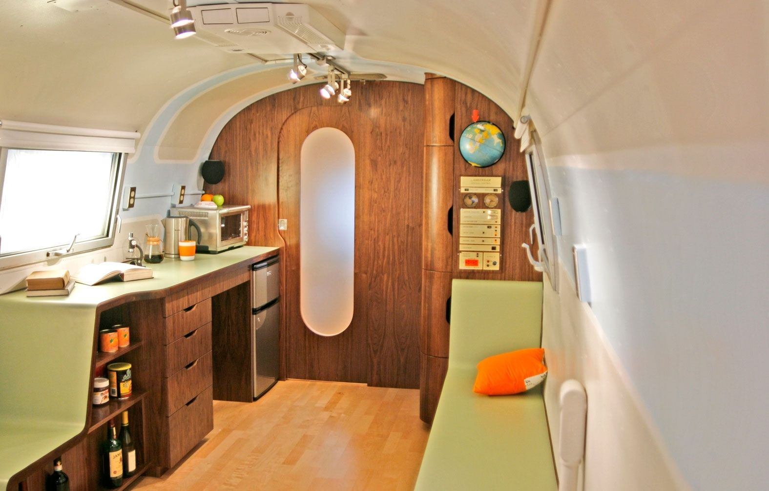 Hand Made Airstream Remodel By Able And Baker Custommade Com