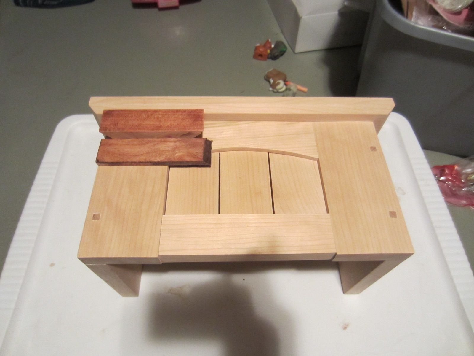 Hand Crafted Door Bell Chime Cover By Kinderling Wood
