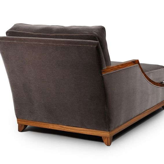 Hand Crafted Belmont Chaise Lounge By Lee Weitzman