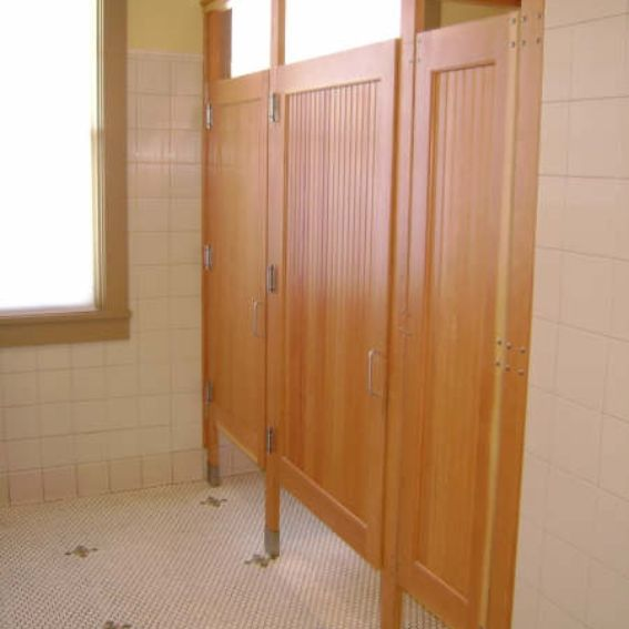 Hand crafted commercial bathroom stall doors by lacey door - Commercial bathroom stall door latches ...