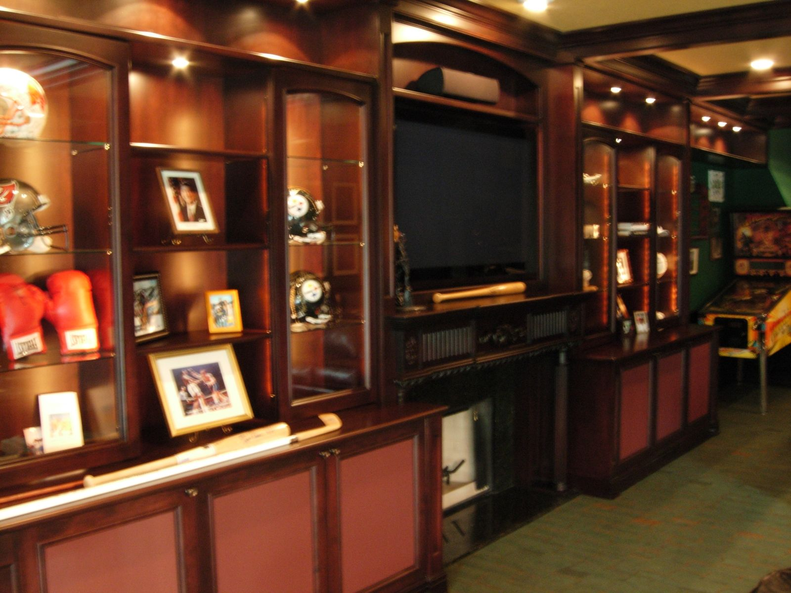 Custom Man Cave by Jim Jakubowski Inc. | CustomMade.com