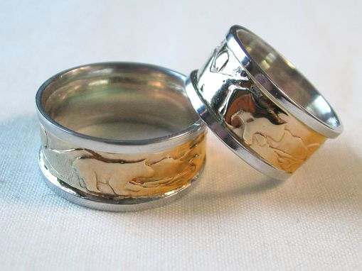 Custom Made Rings For Allyson And Ernie