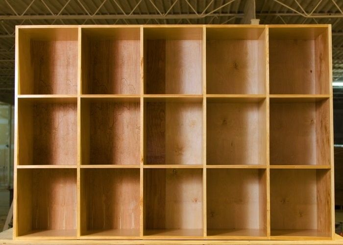 Custom Made Extra Large Cubby Storage BinShelves By