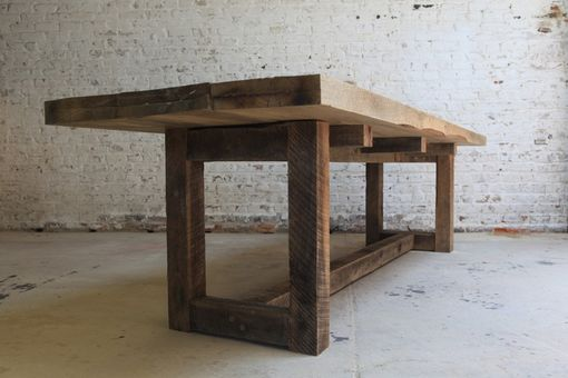 Custom Made Reclaimed Wood Table