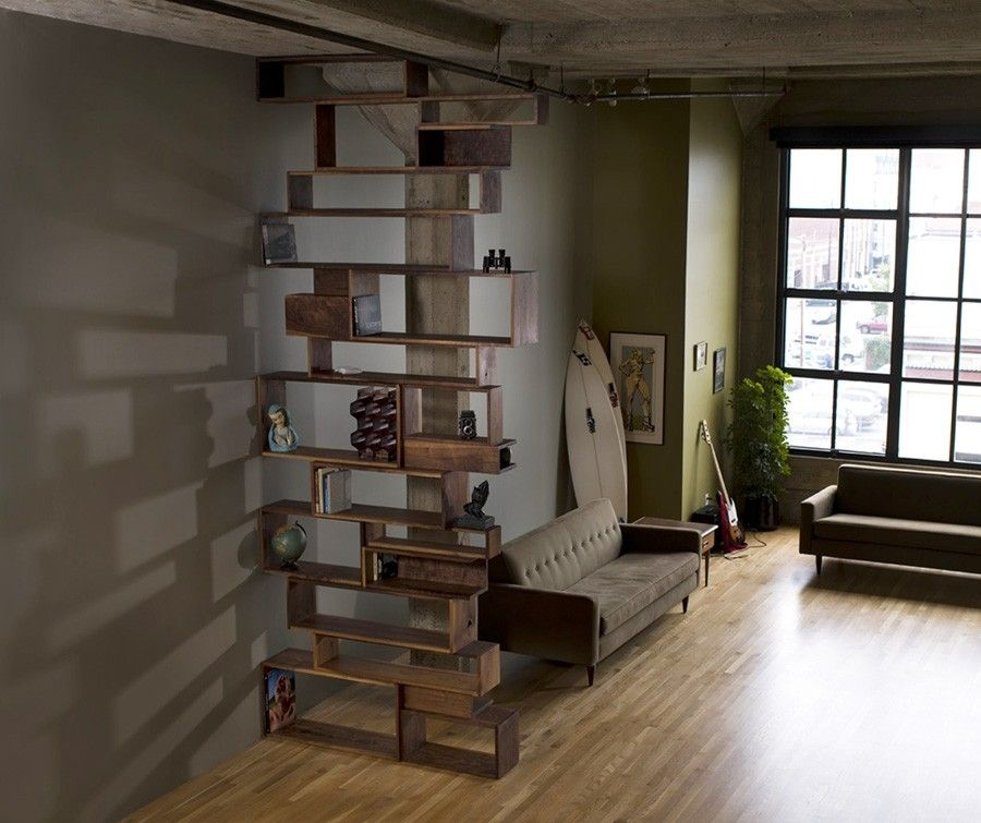 Handmade Walnut Shelving Unit By Anand Gowda Design