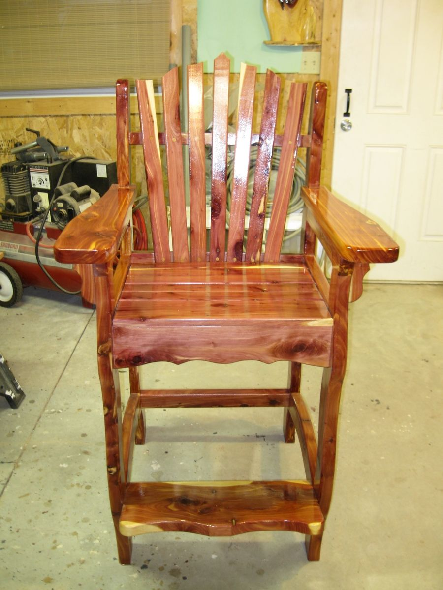 Hand Made Spectator Chair By River Bend Wood Works