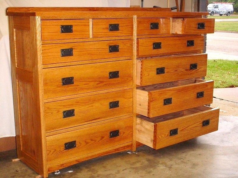 Hand Crafted Large 12 Drawer Chest By Nelsonwood
