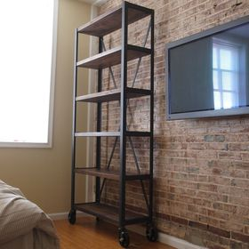 Heavy Industrial Bookcase Book Shelf