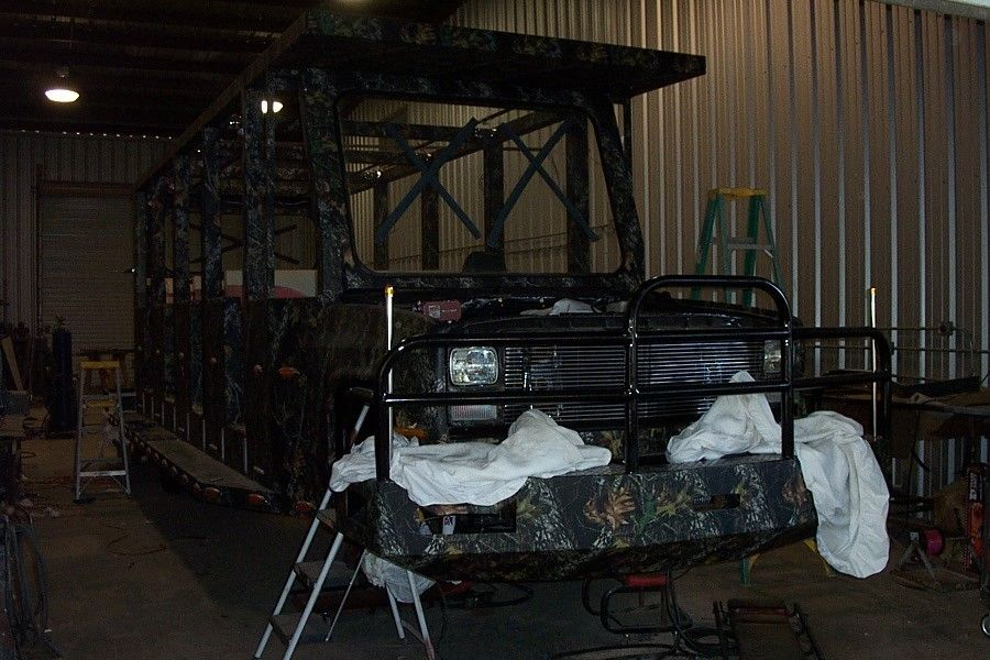 Hand Made Mossy Oak S Redneck Suv By Bayou Boogie Customs