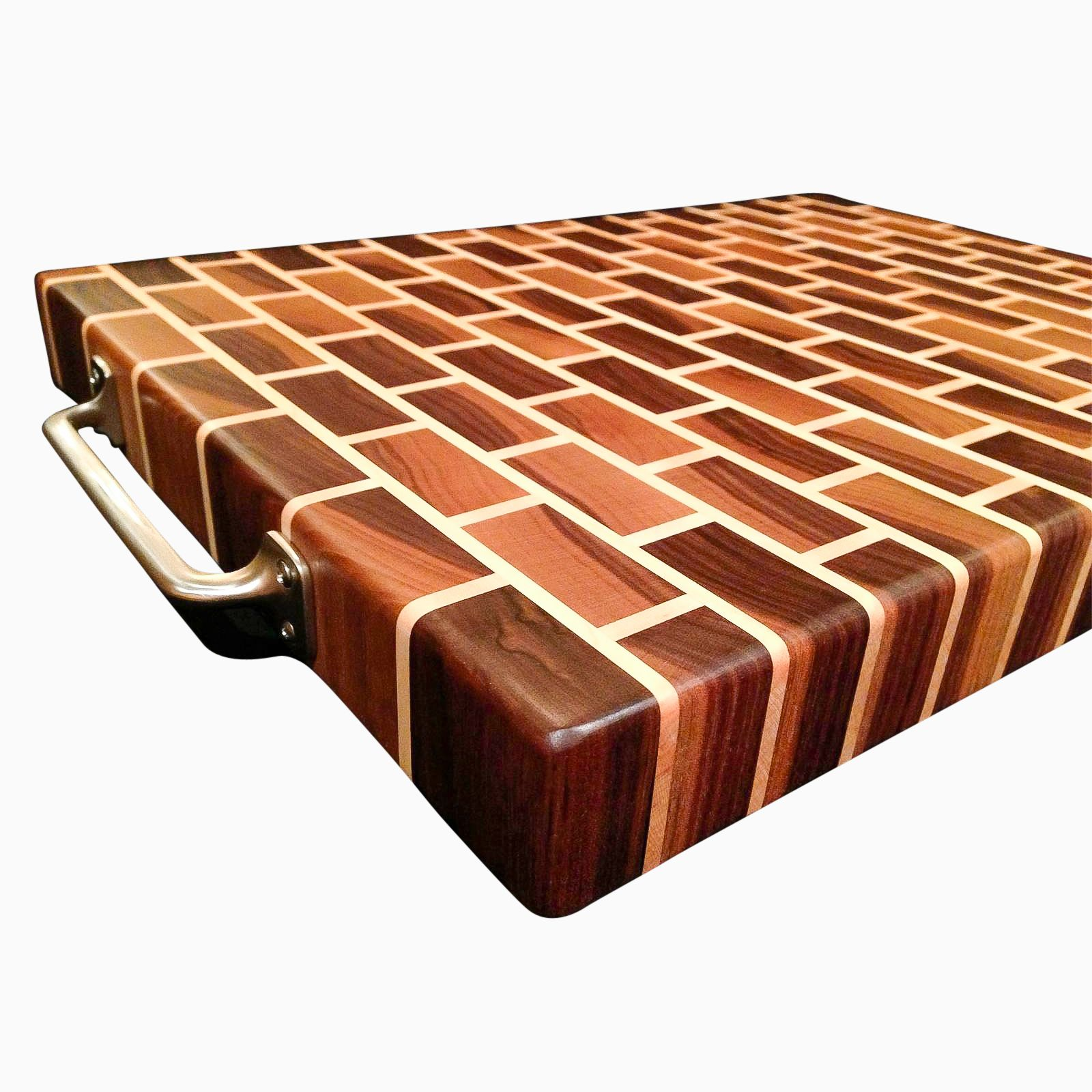 Buy A Hand Crafted Black Walnut And Rock Maple End Grain Cutting Board Made To Order From