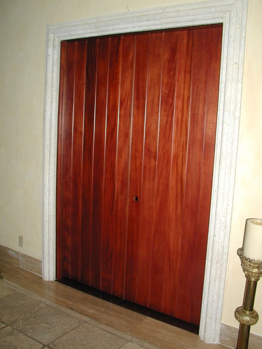Hand Made Tongue And Groove Doors By Grateful Woodworks