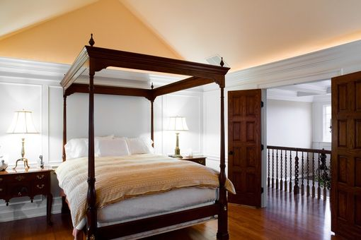 Custom Made Traditional Bedroom Paneling And Moulding