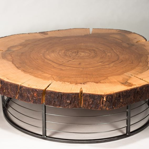 Hand Crafted Coffee Table By Trevor Thurow Custom